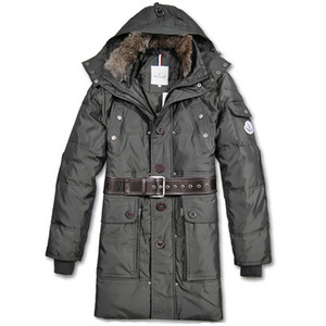 Moncler Long Coats Belt Dekoration Ensignia DG8579 [1e32]