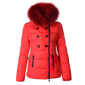DG2554 2012 Moncler Herisson Womens Daunenjacken Short Red [c8ab]
