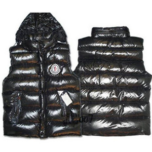 DG2973 Moncler Clairy Puffer Abajo Chalecos Negro [0b62]