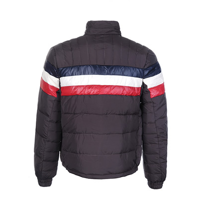 f23fbf8fa9c6 Moncler Striped Technical Menuire Mens Jackets Cream Brown DG5243 ...