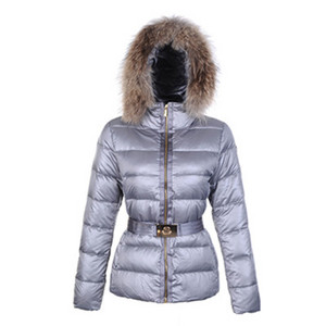 DG1157 Womens Moncler Gene Down Coats Light Grey [9495]