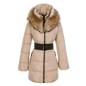 DG7331 Moncler Sauvage Womens Large Collar Coat Khaki [d7f5]