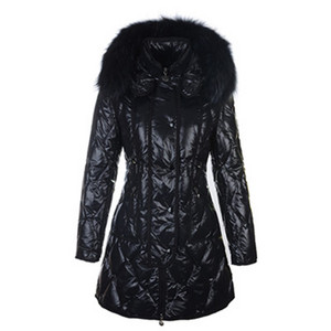DG8442 2012 New Moncler Lontre Womens Down Coats Shiny Black [fd65]