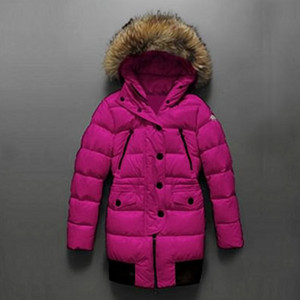 Womens Moncler Loire Down Coats Plum DG3957 [cd14]