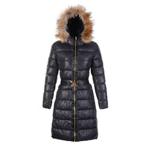 Womens Moncler Long Coats Black DG6163 [6761]