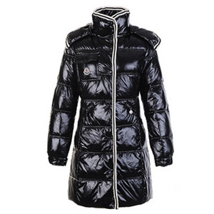 Womens Moncler New Coming Style Coats Black DG1851 [ad68]