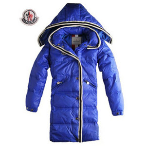 Womens Moncler New Coming Style Coats Single-breasted Blue DG8192 [e1ee]