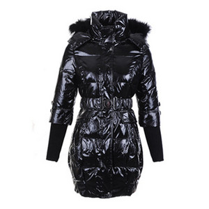 Womens Moncler New Down Coats Black DG7832 [dd80]