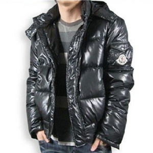 DG9547 Mens Moncler Down Jacket Navy With Hood [f699]