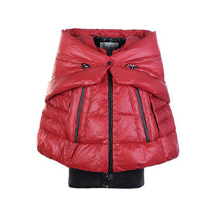 DG9193 Womens Moncler Shawl-style Jacket Red [f5b1]