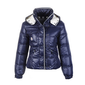 Womens Moncler Quincy Dark Blue Down Jackets DG3329 [1e1f]