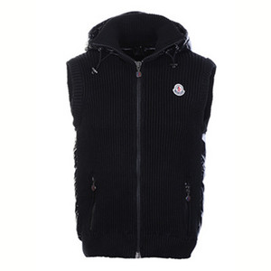 DG2316 Mens Moncler Hooded Cardigan Vest [8a17]