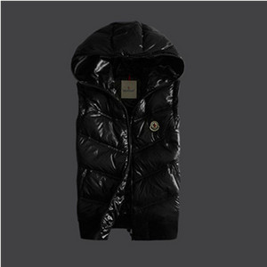 DG2644 Newest Mens Moncler Vests Hooded With Black [2b9d]