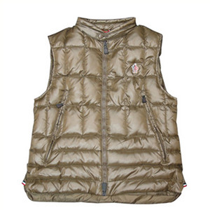 DG2853 Mens Moncler Vest Clairy Dowe Sleeveless Brown [8db0]
