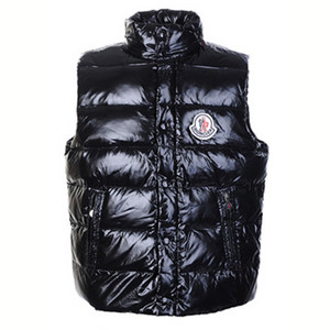 DG3261 Mens Moncler Tib Gilet Down Vests Black [4090]