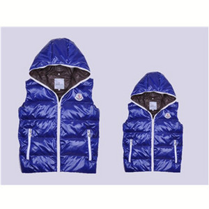 DG5941 Mens Moncler Vests Fashion Hooded Style Blue [baba]