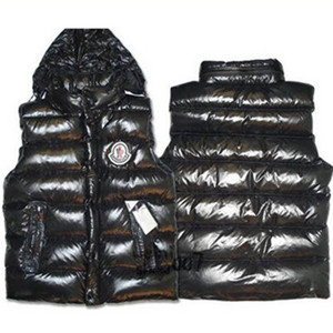 DG6121 Mens Moncler Fashion Down Vests Black [ea79]