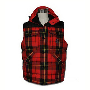 DG9482 Moncler Liberation Vests Mens Stylish And Generous Red [4b92]