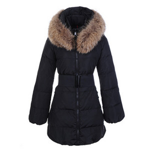 DG2699 Moncler Sauvage Womens Large Collar Coat Black [5bee]