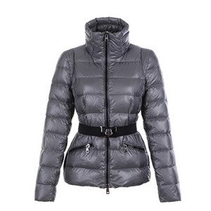 DG5228 Moncler Womens Down Quilted Jackets Grey [6b4e]