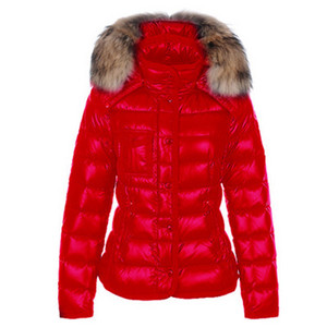 Moncler Armoise Womens Red Jacket DG9362 [e421]