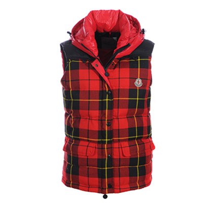 DG5778 Moncler Amarige Womens Vests Liberation Lattice Red And Black [6dce]