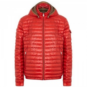 Moncler Lionel Padded Jacket Mens Red DG8814 [f955]