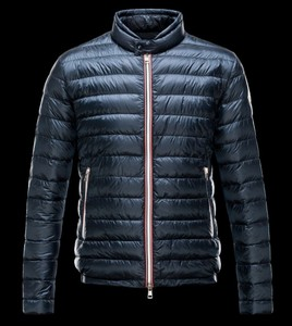 Moncler Rigel Padded Jacket Mens Navy DG9423 [7186]