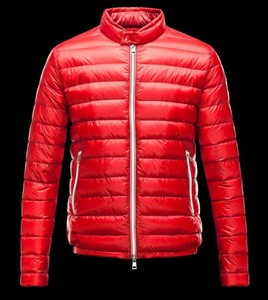 Moncler Rigel Padded Jacket Mens Red DG7216 [4164]